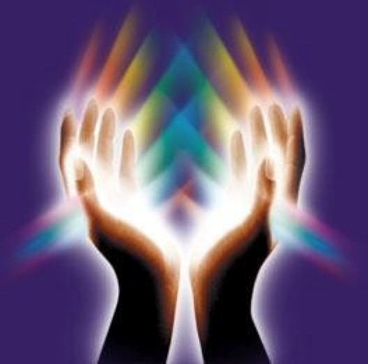 Energie Reiki dans les mains
