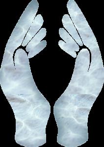 Les mains du Reiki 1