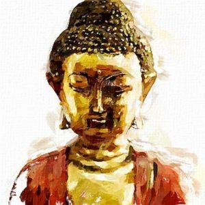Bouddha-doré-veste-rouge_Dessin 1 3