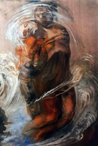 D'après La Pieta de Michel Ange par Salvador Dali 1