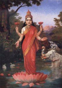Lakshmi ,déesse de la prospérité 1