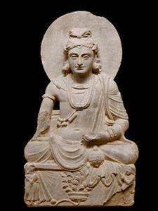 Maitreya musée national d'art oriental de Rome 1