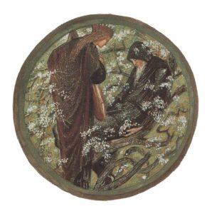 Witches Tree par Edward Burne Jones 1