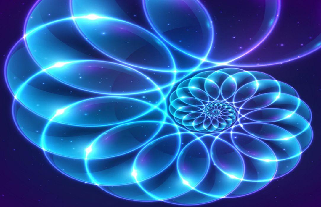 Dimension lumineuse d'énergie