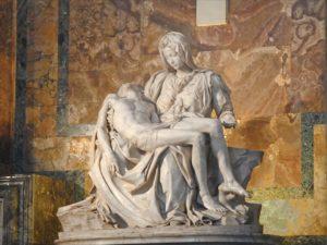 la Pieta de Michel Ange 1
