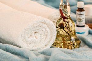 Huiles et serviettes 1